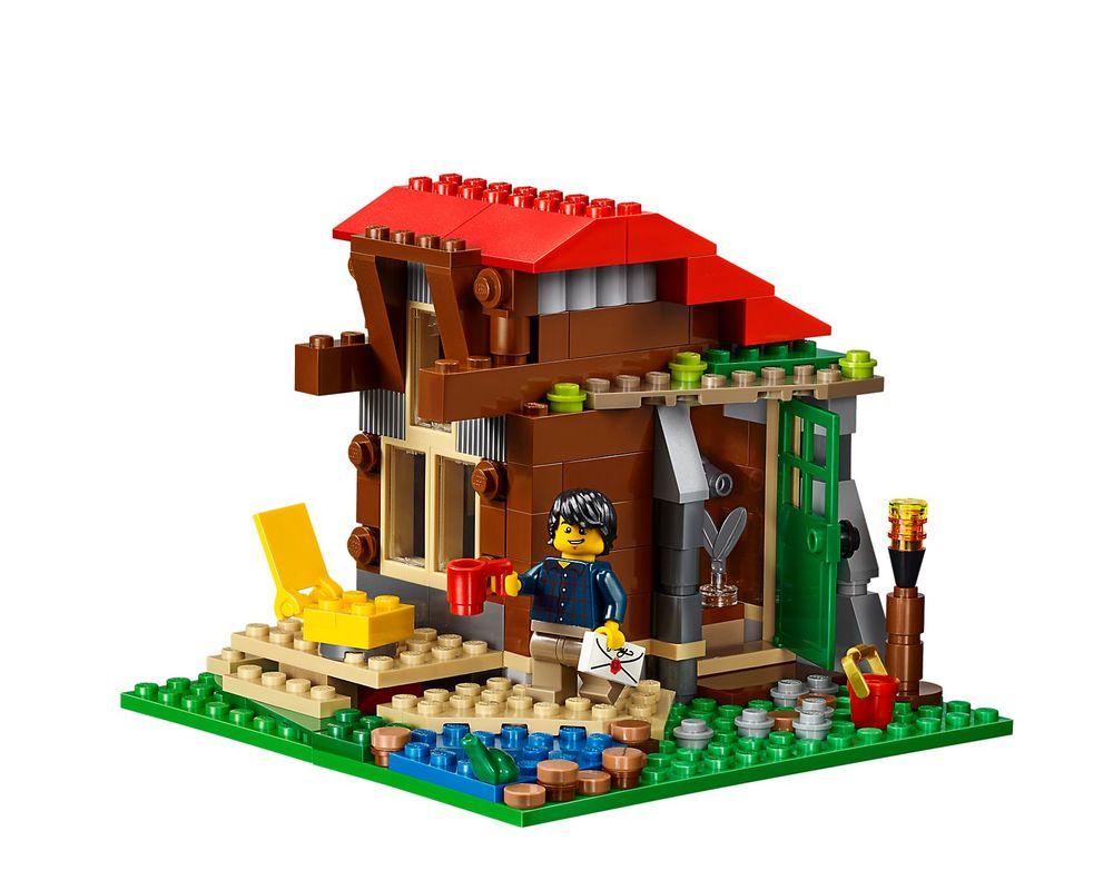 LEGO Set 31048-1 Lakeside Lodge