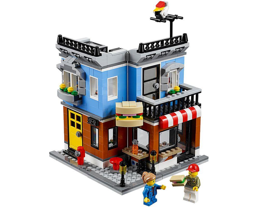 LEGO Set 31050-1 Corner Deli (LEGO - Model)