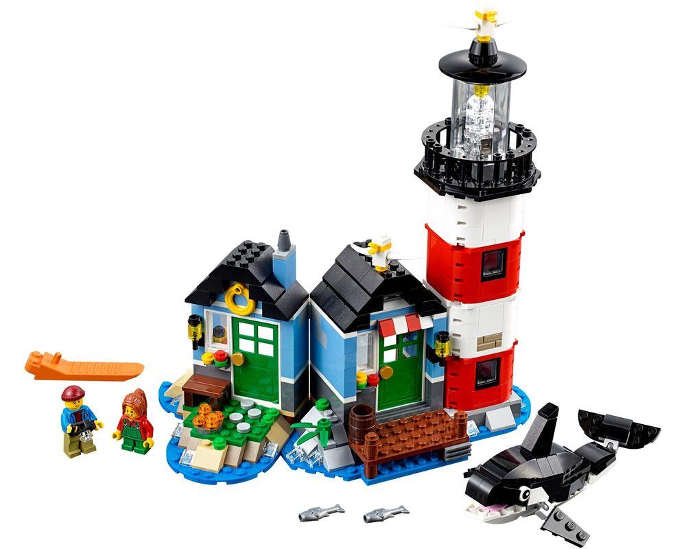 LEGO Set 31051-1 Lighthouse Point (Model - A-Model)