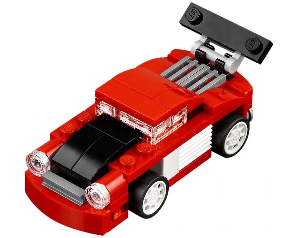 LEGO Set 31055-1 Red Racer (LEGO - Model)