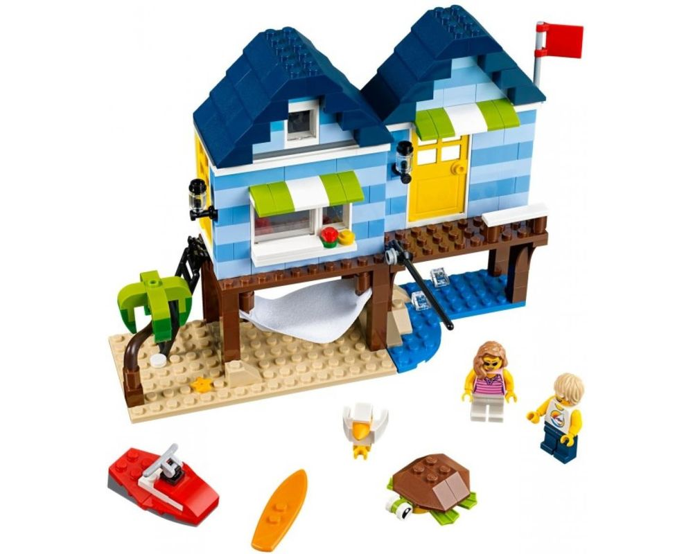 LEGO Set 31063-1 Beachside Vacation (Model - A-Model)