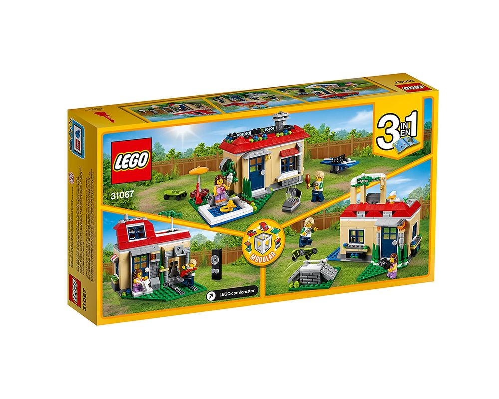 LEGO Set 31067-1 Modular Poolside Holiday