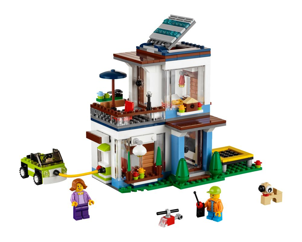 LEGO Set 31068-1 Modular Modern Home (Model - A-Model)