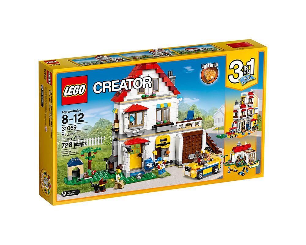 LEGO Set 31069-1 Modular Family Villa