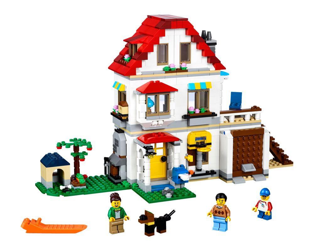 LEGO Set 31069-1 Modular Family Villa (Model - A-Model)