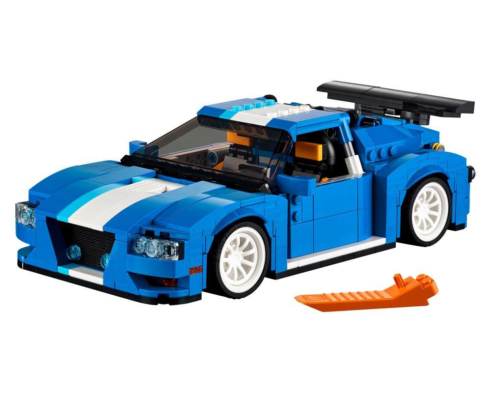 LEGO Set 31070-1 Turbo Track Racer (Model - A-Model)