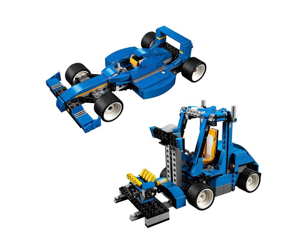 LEGO Set 31070-1 Turbo Track Racer