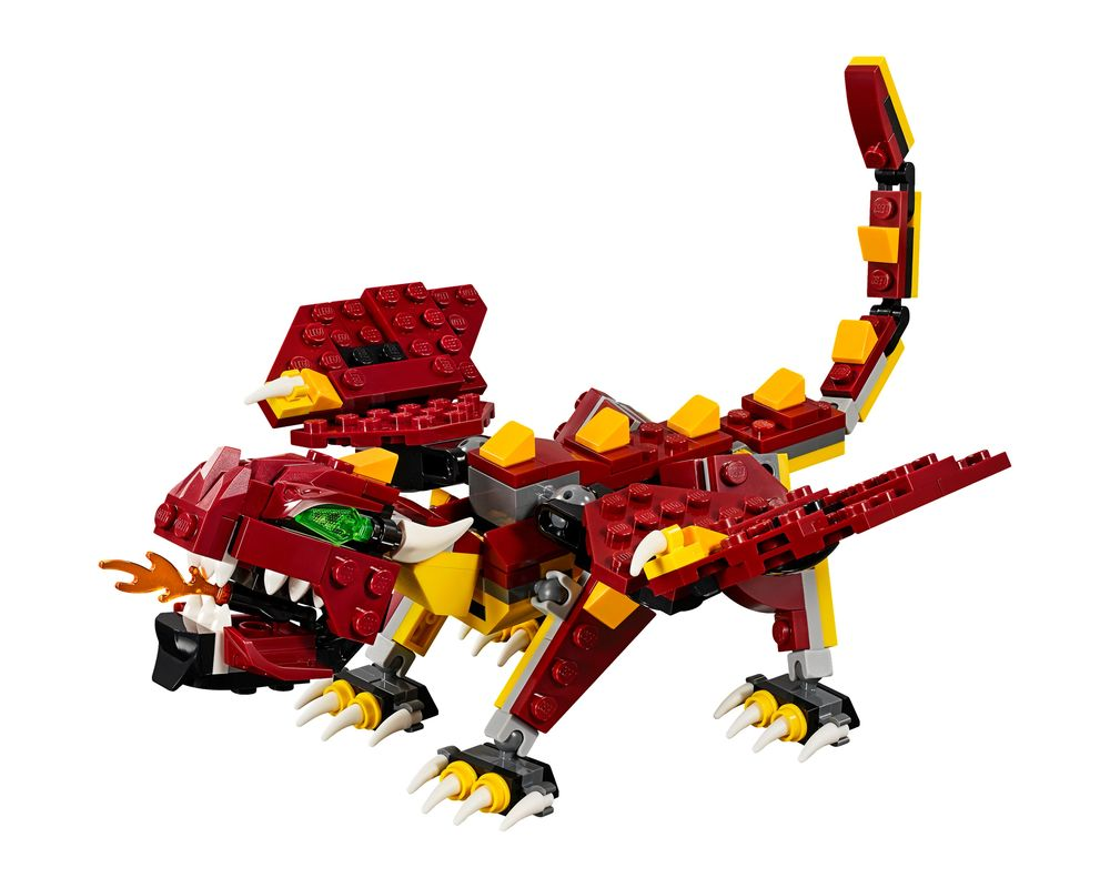LEGO Set 31073-1 Mythical Creatures (Model - A-Model)