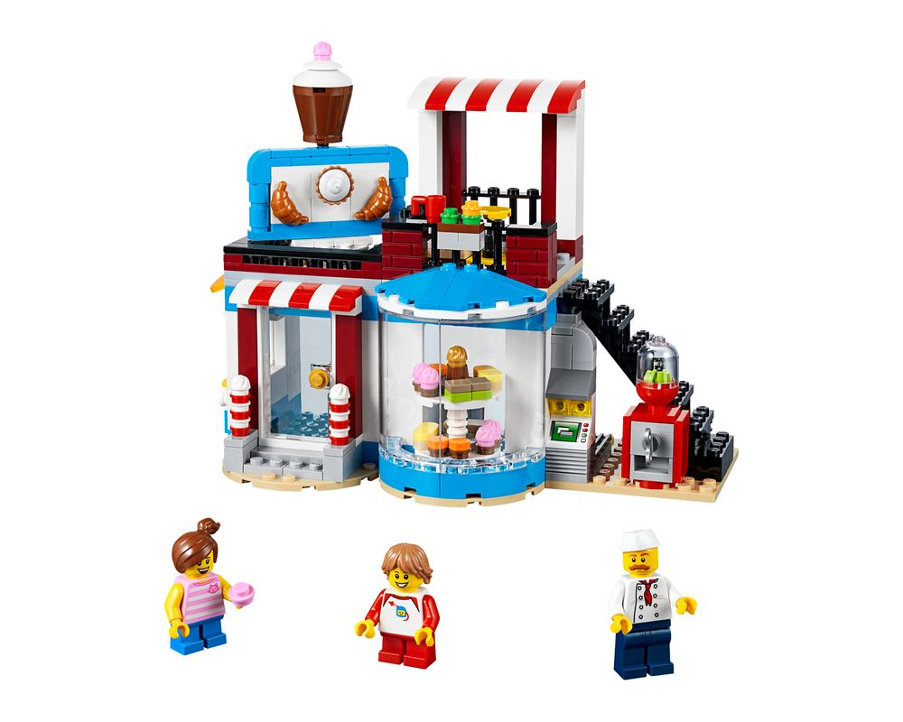 LEGO Set 31077-1 Modular Sweet Surprises (Model - A-Model)