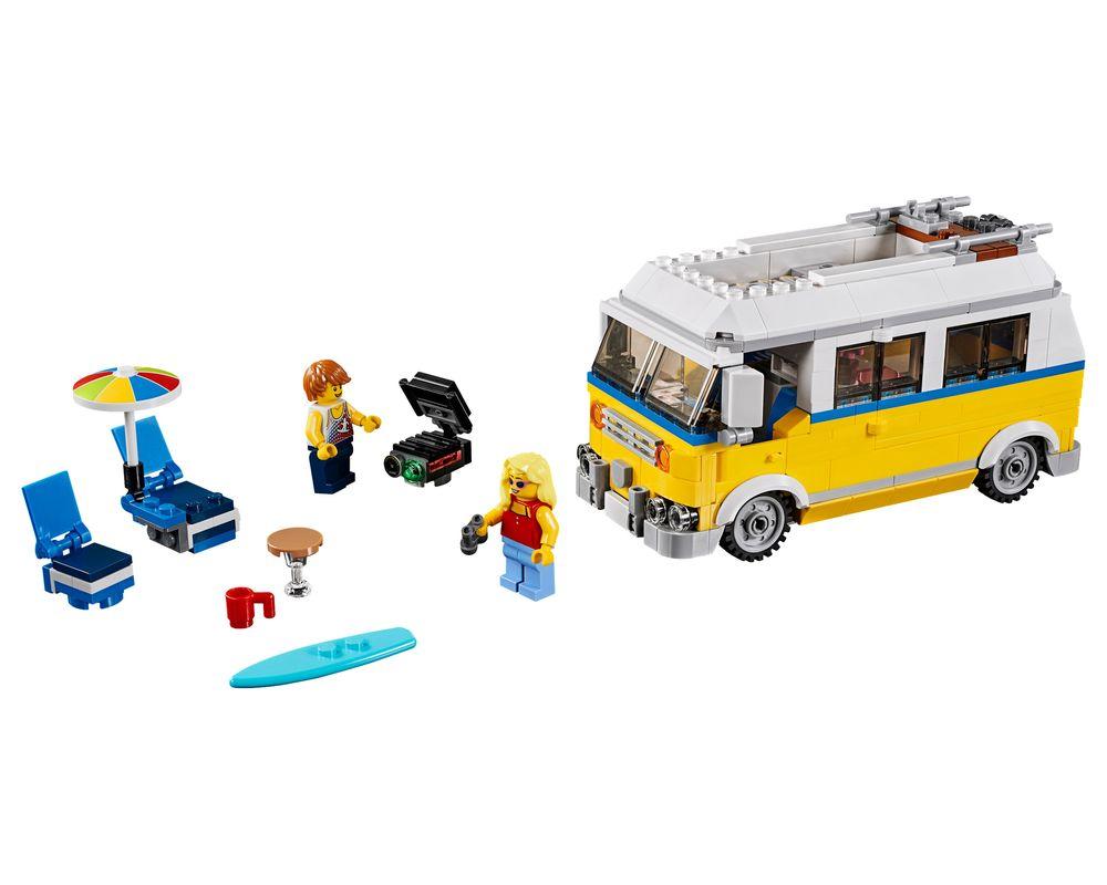 LEGO Set 31079-1 Sunshine Surfer Van (LEGO - Model)