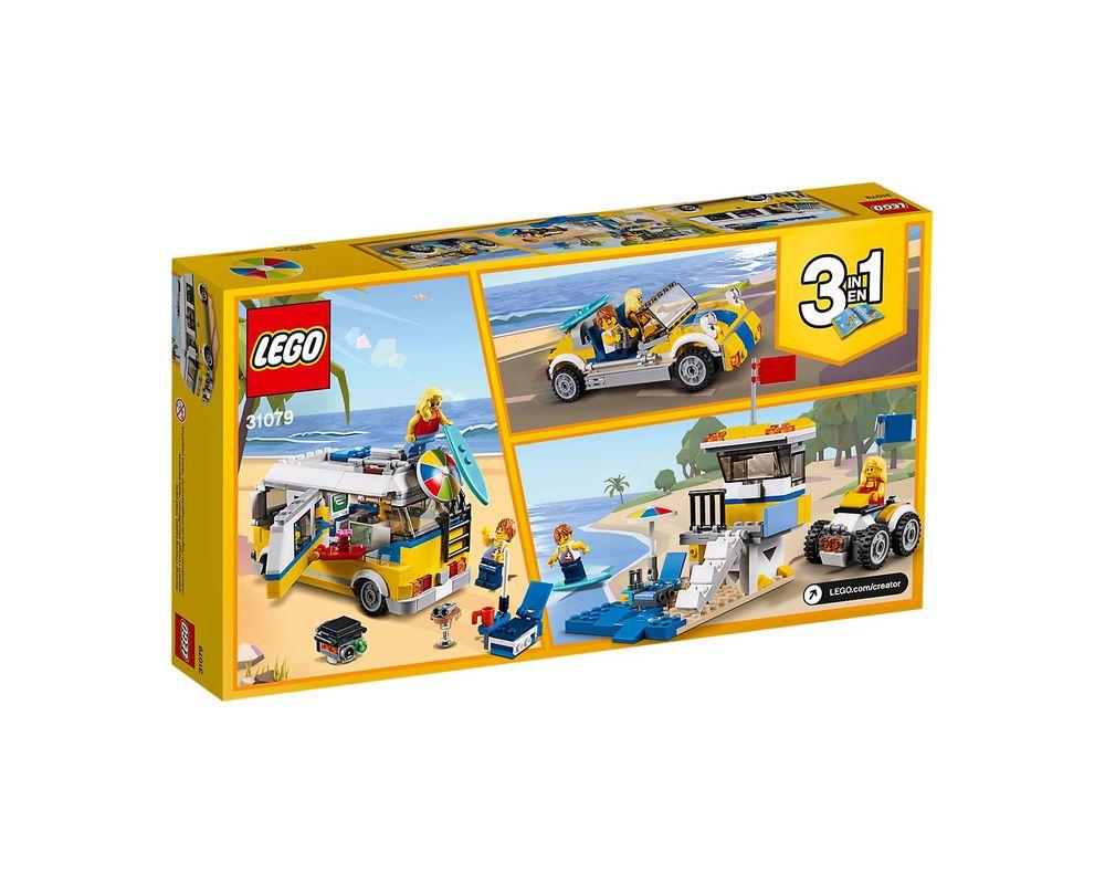 LEGO Set 31079-1 Sunshine Surfer Van