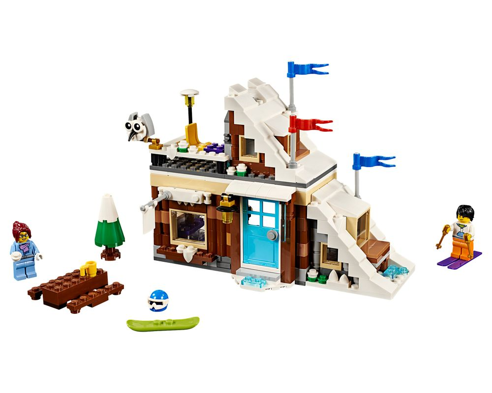LEGO Set 31080-1 Modular Winter Vacation (LEGO - Model)