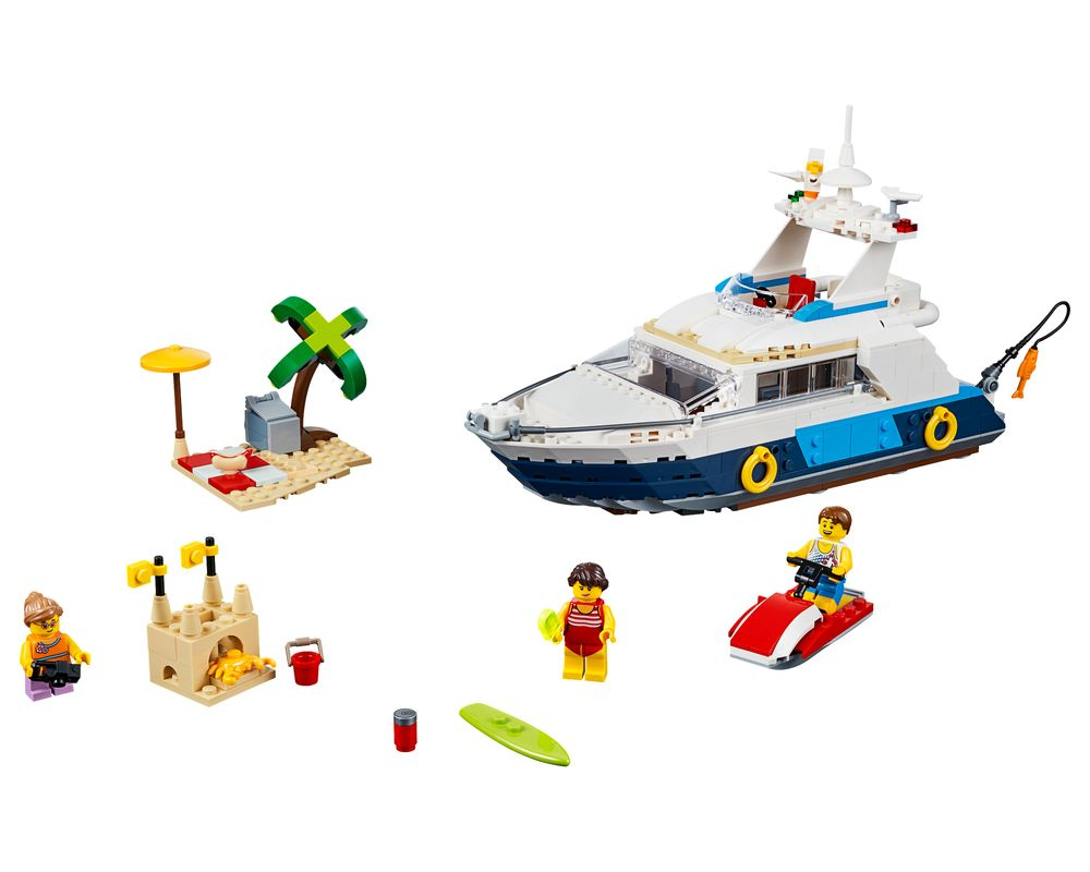 LEGO Set 31083-1 Cruising Adventures (LEGO - Model)