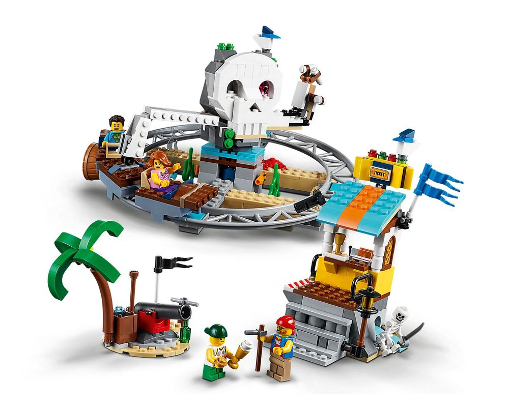 LEGO Set 31084-1 Pirate Roller Coaster