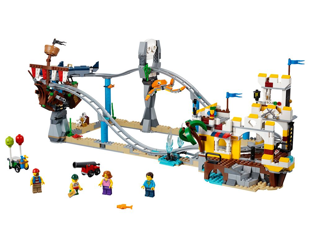 LEGO Set 31084-1 Pirate Roller Coaster (LEGO - Model)