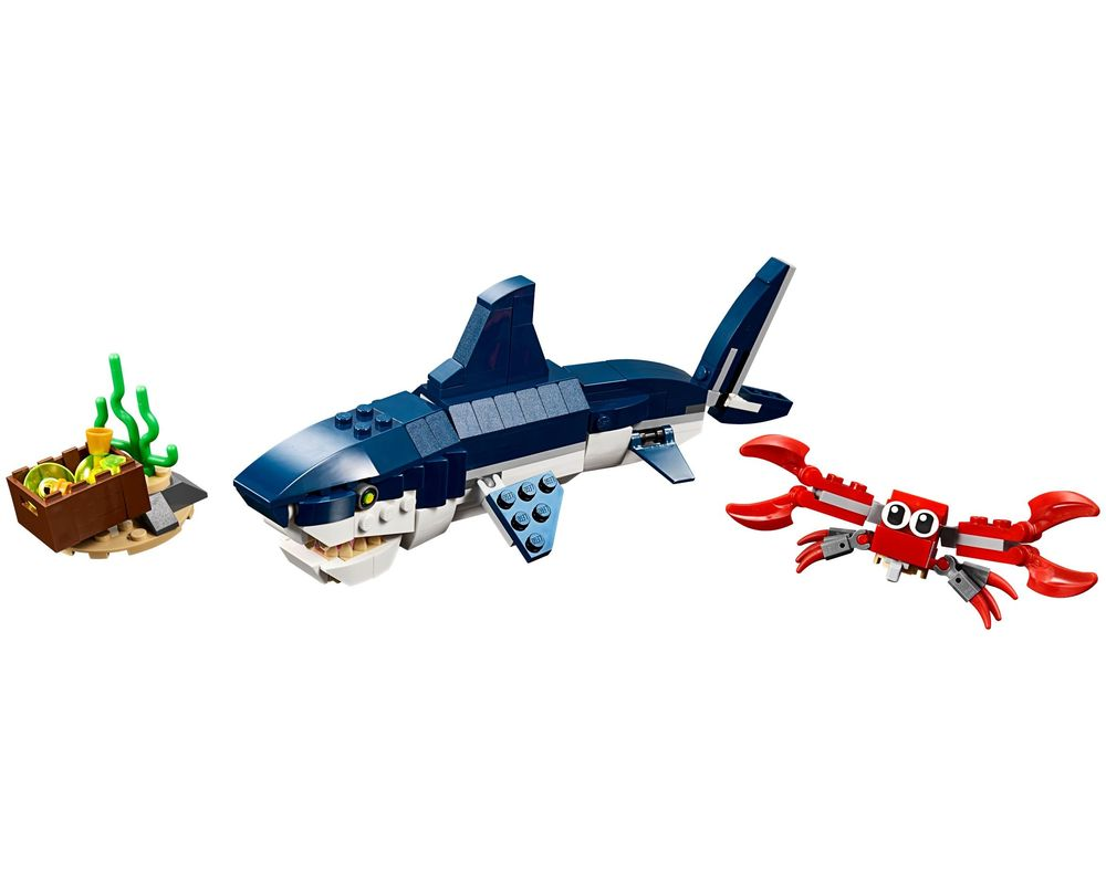 LEGO Set 31088-1 Deep Sea Creatures (LEGO - Model)