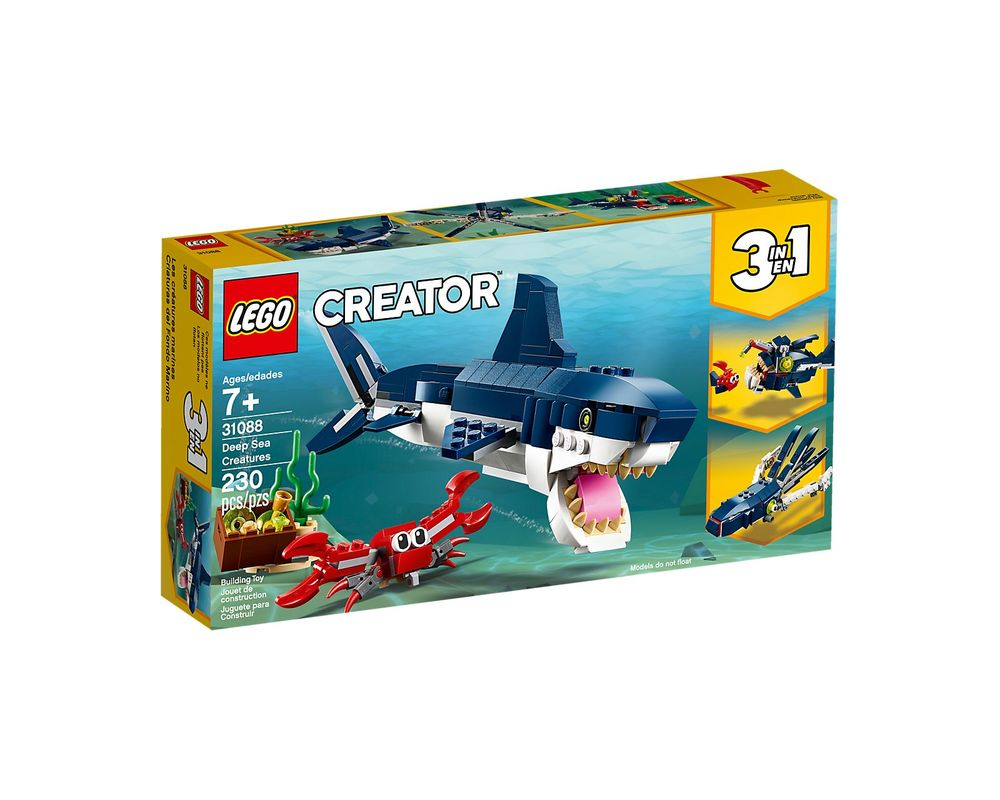 LEGO Set 31088-1 Deep Sea Creatures