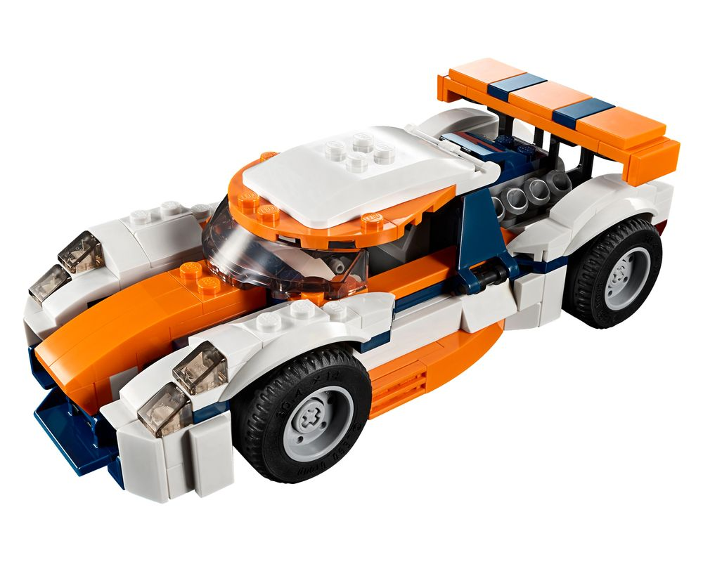 LEGO Set 31089-1 Sunset Track Racer (LEGO - Model)