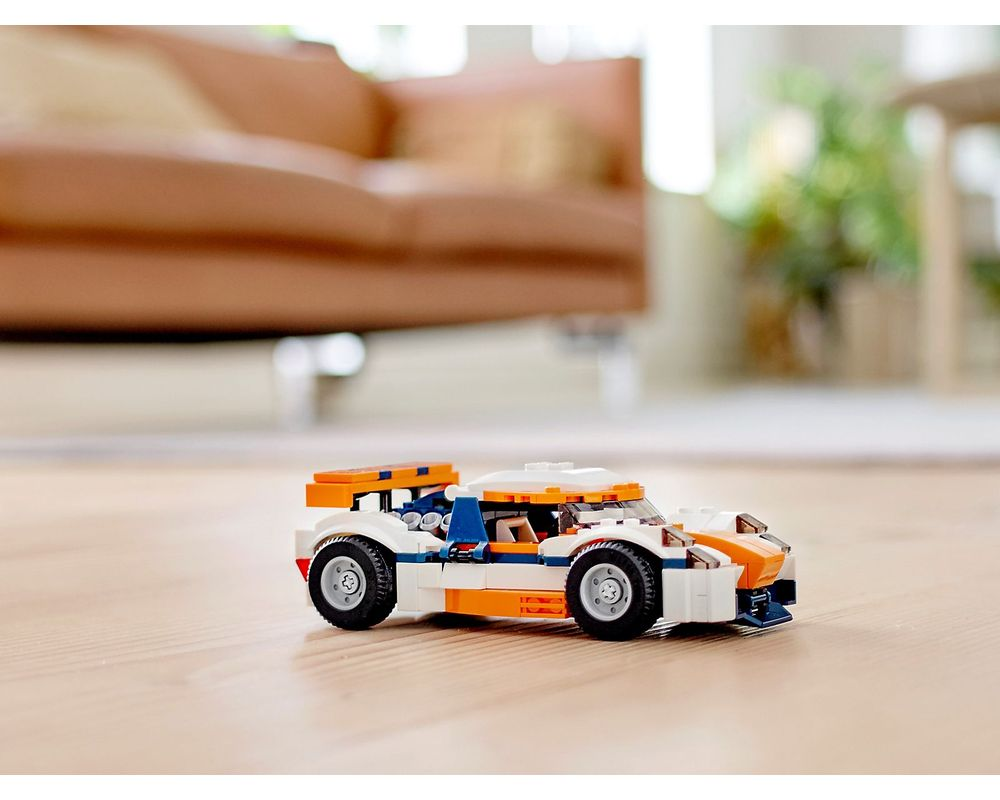 LEGO Set 31089-1 Sunset Track Racer