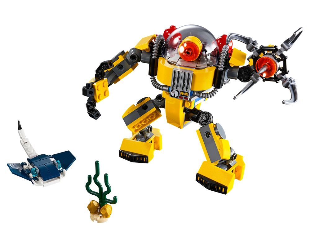 LEGO Set 31090-1 Underwater Robot (Model - A-Model)