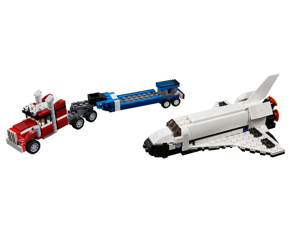 LEGO Set 31091-1 Shuttle Transporter (LEGO - Model)