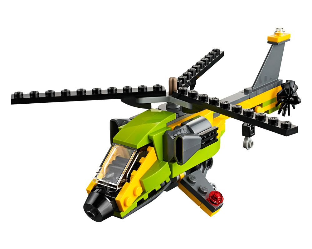 LEGO Set 31092-1 Helicopter Adventure (Model - A-Model)