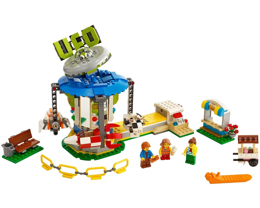 LEGO Set 31095-1 Fairground Carousel (Model - A-Model)