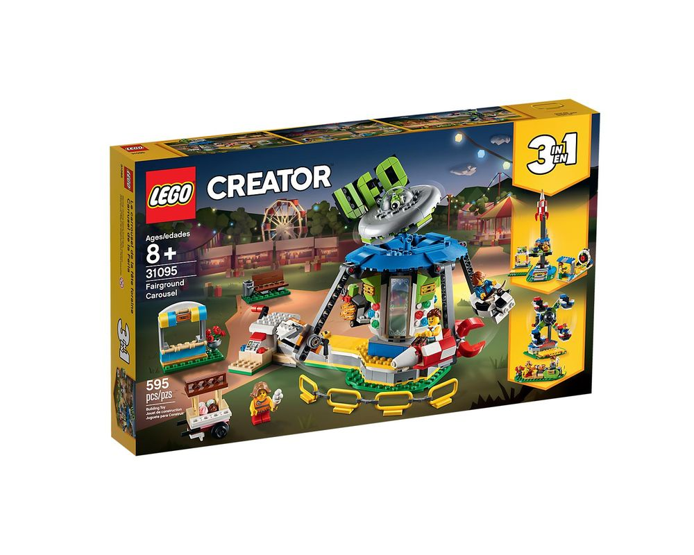 LEGO Set 31095-1 Fairground Carousel