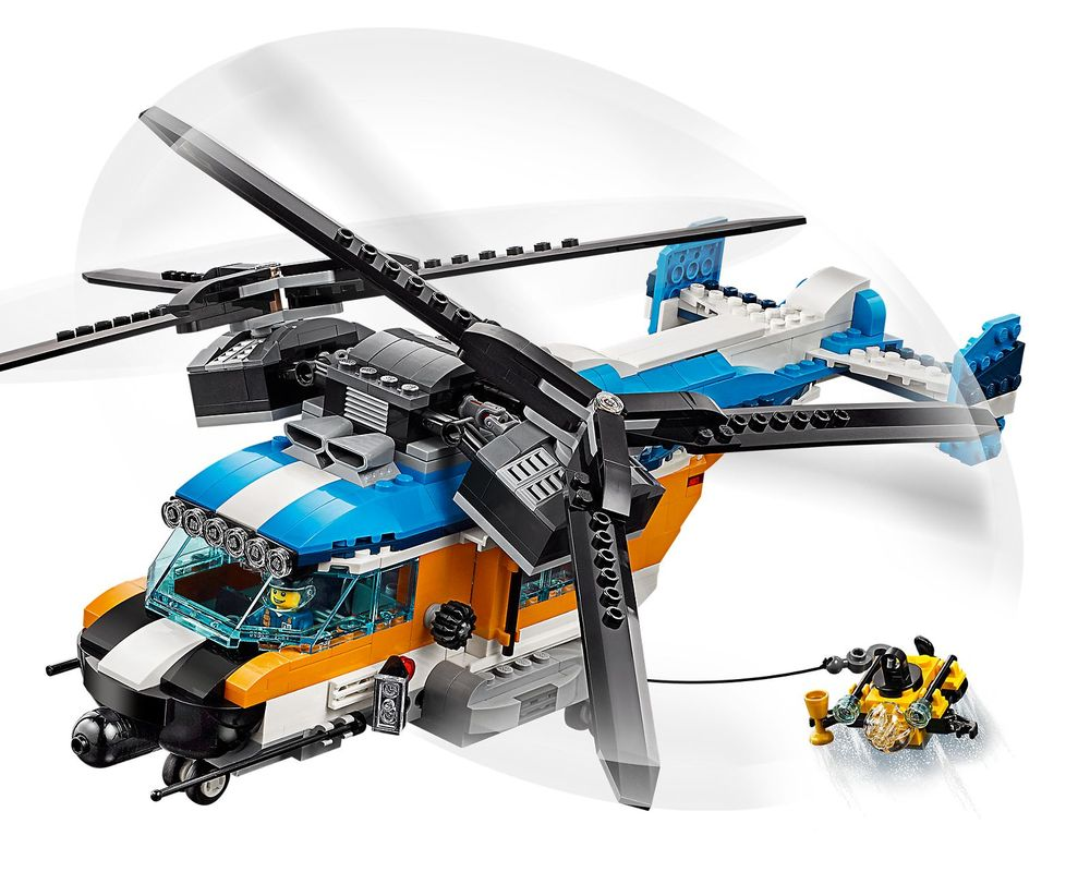 LEGO Set 31096-1 Twin-Rotor Helicopter