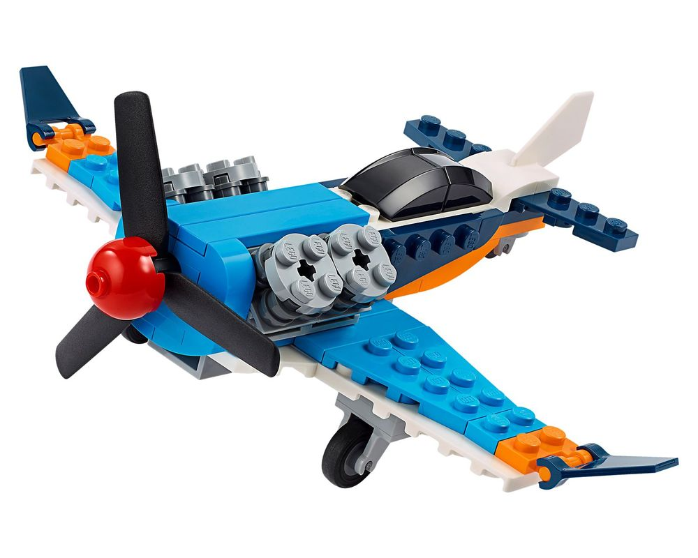 LEGO Set 31099-1 Propeller Plane (Model - A-Model)