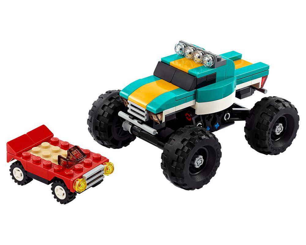 LEGO Set 31101-1 Monster Truck (Model - A-Model)