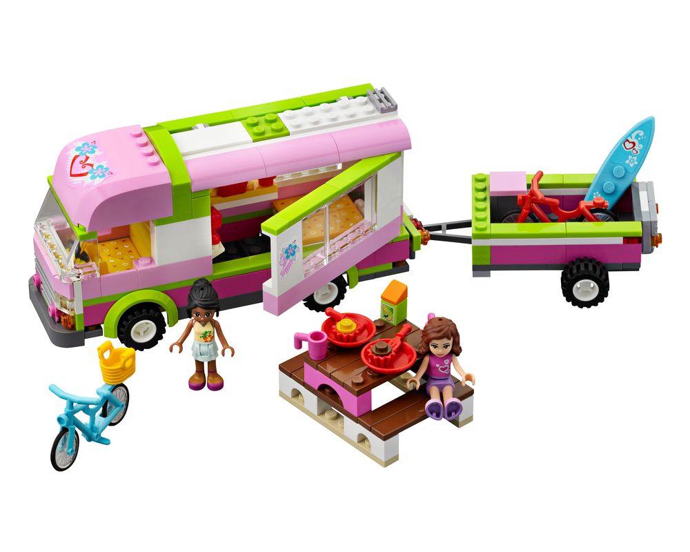 LEGO Set 3184-1 Adventure Camper (Model - A-Model)