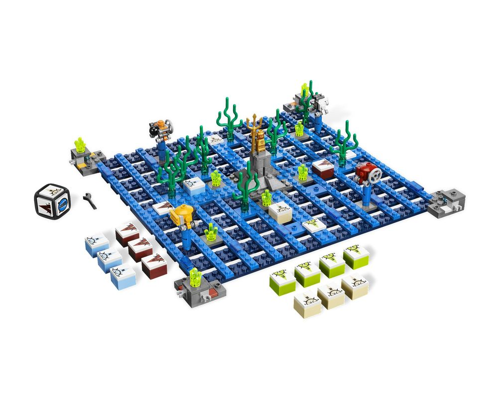 LEGO Set 3851-1 Atlantis Treasure (LEGO - Model)