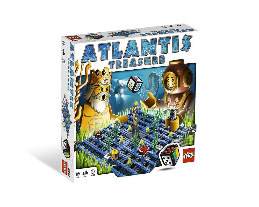 LEGO Set 3851-1 Atlantis Treasure
