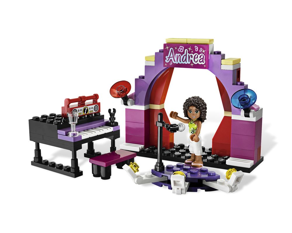 LEGO Set 3932-1 Andrea's Stage (Model - A-Model)
