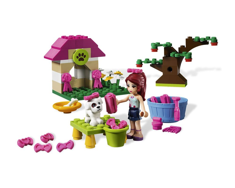 LEGO Set 3934-1 Mia's Puppy House (Model - A-Model)