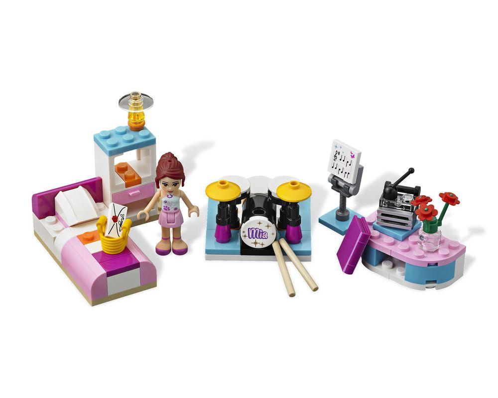LEGO Set 3939-1 Mia's Bedroom (Model - A-Model)