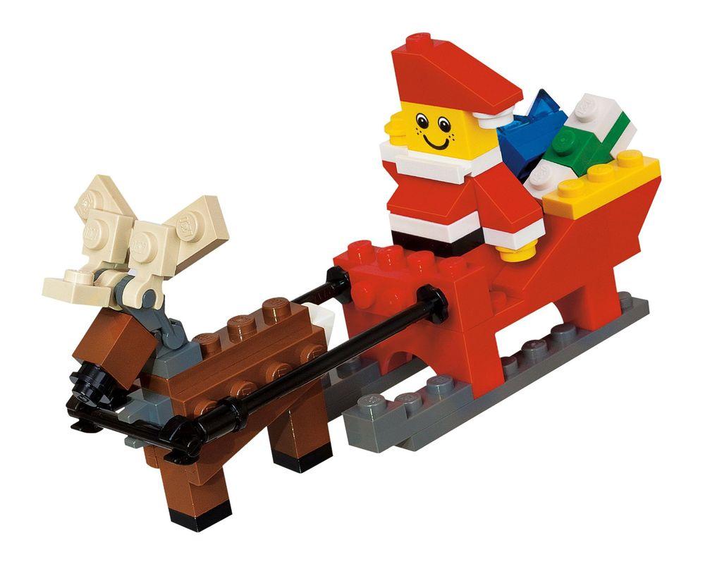 LEGO Set 40010-1 Santa with Sleigh (LEGO - Model)