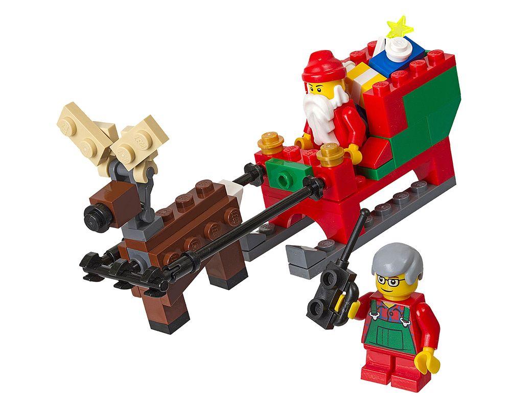 LEGO Set 40059-1 Santa's Sleigh (Model - A-Model)