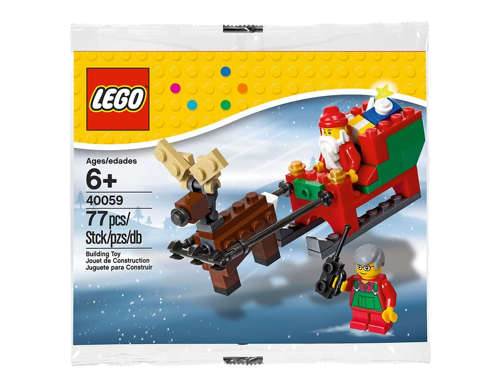 LEGO Set 40059-1 Santa's Sleigh