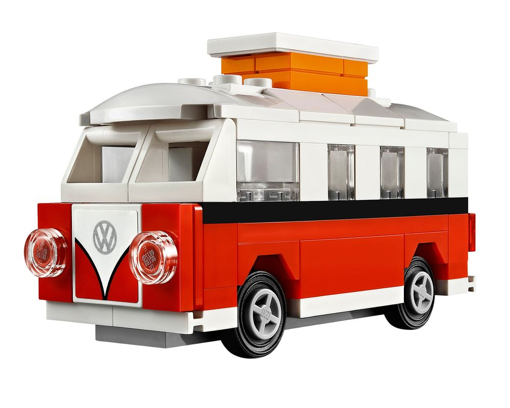 LEGO Set 40079-1 Mini VW T1 Camper Van (LEGO - Model)
