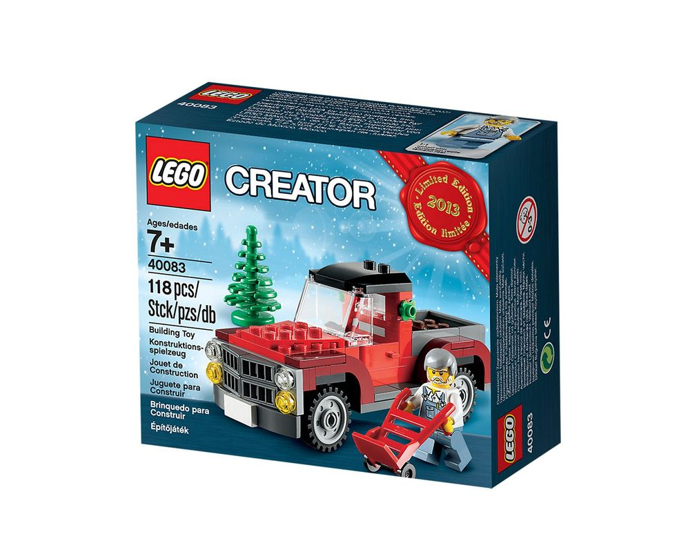 LEGO Set 40083-1 Christmas Tree Truck