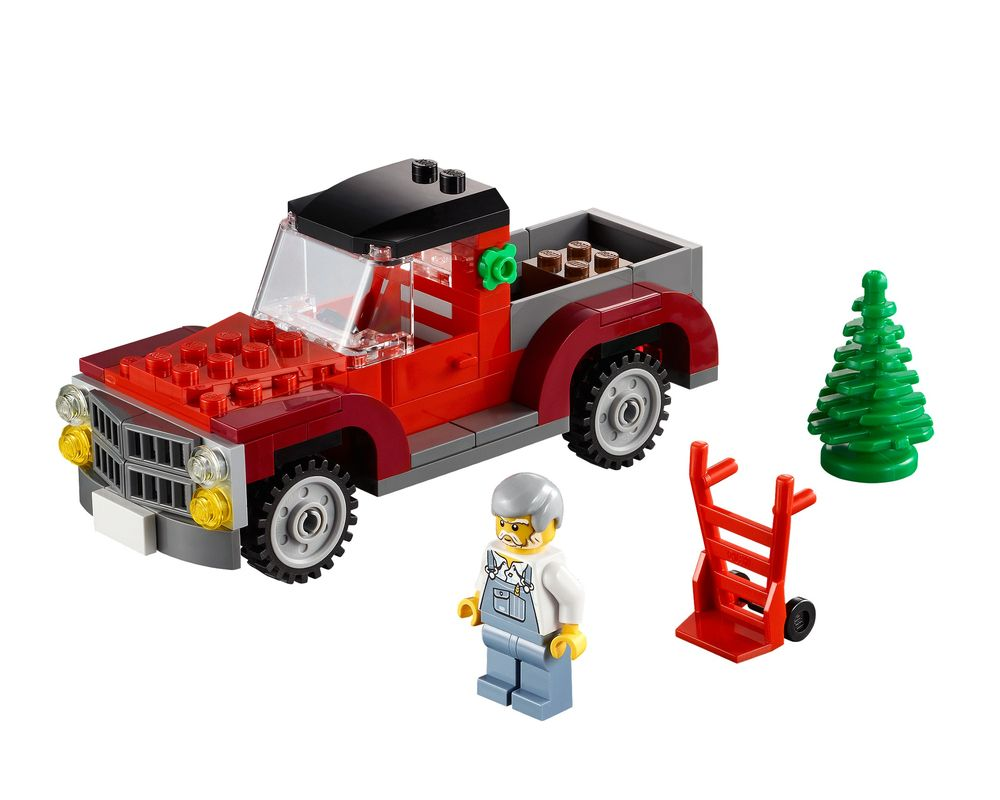 LEGO Set 40083-1 Christmas Tree Truck (LEGO - Model)