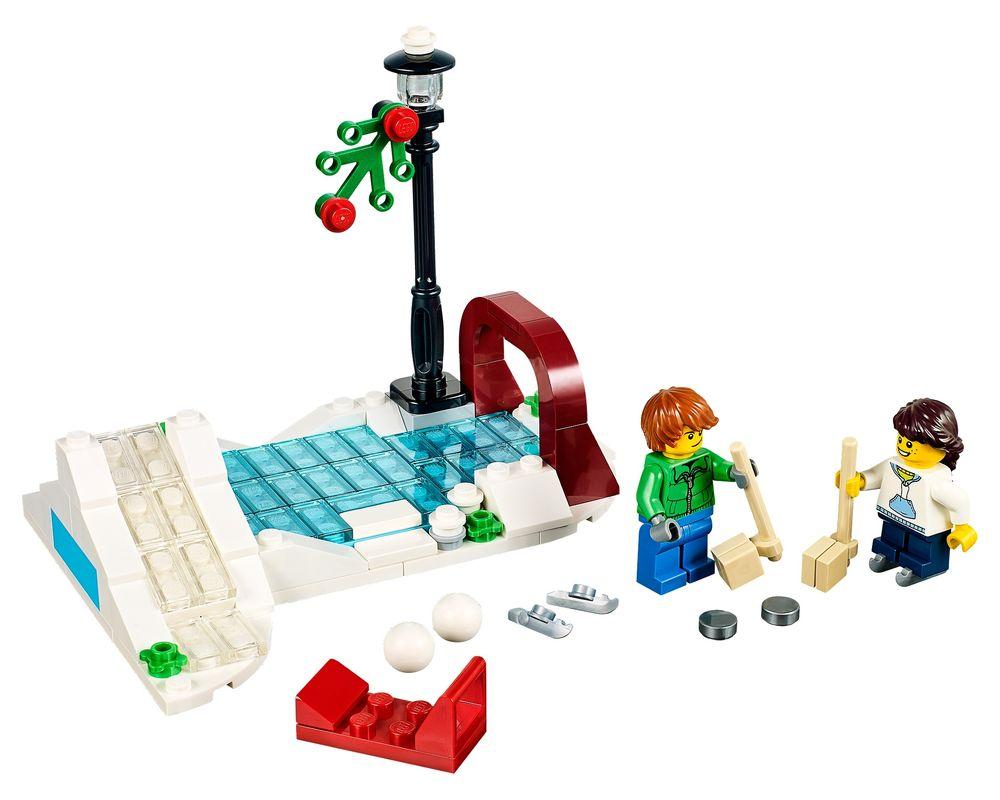LEGO Set 40107-1 Winter Skating Scene (Model - A-Model)