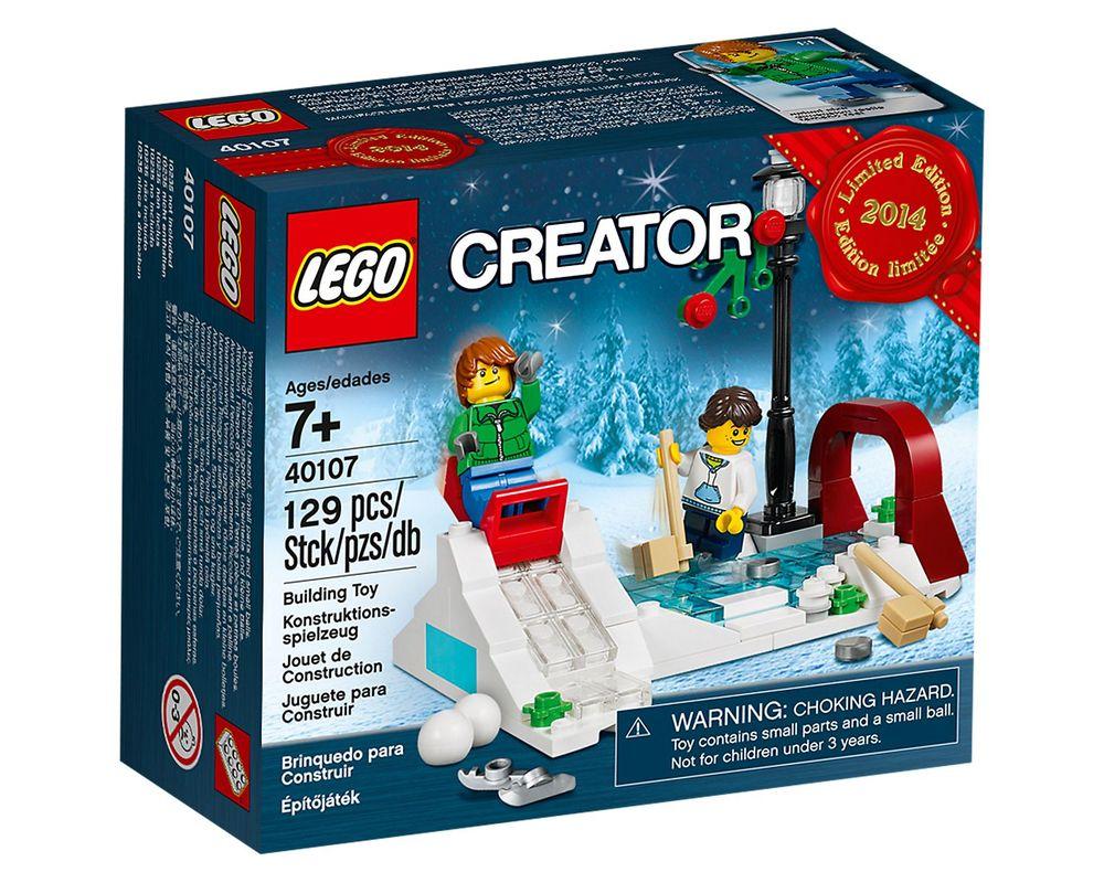 LEGO Set 40107-1 Winter Skating Scene
