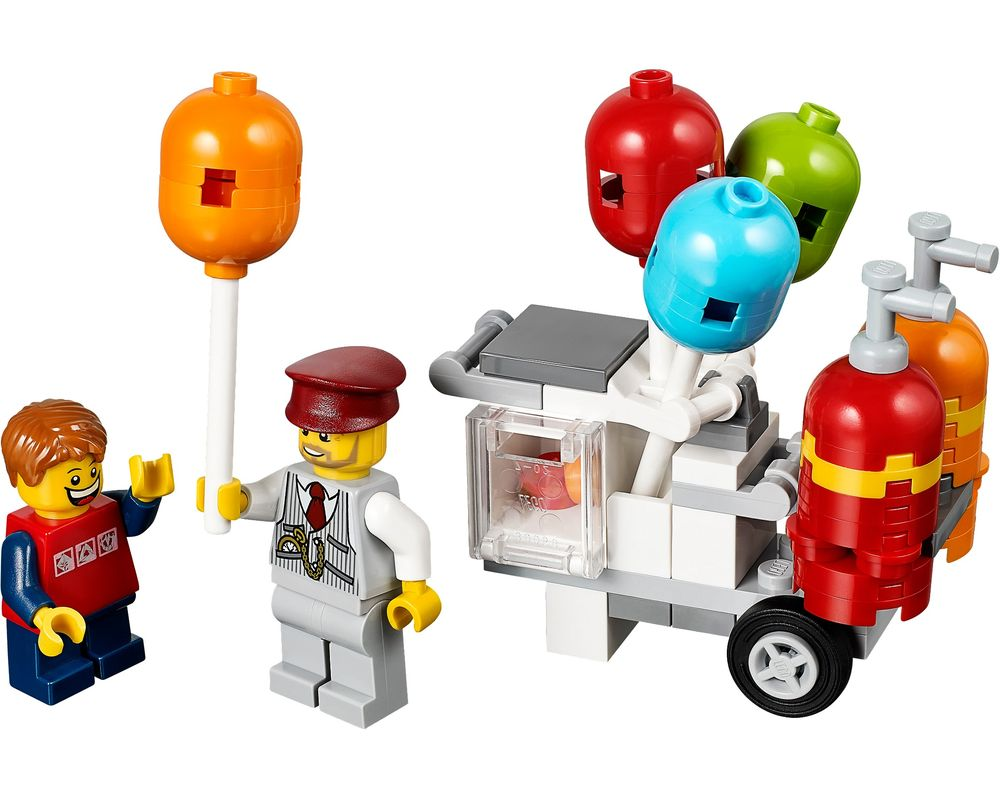 LEGO Set 40108-1 Balloon Cart (Model - A-Model)