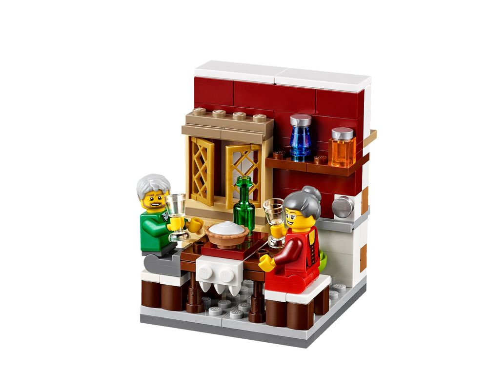LEGO Set 40123-1 Thanksgiving Feast (LEGO - Model)