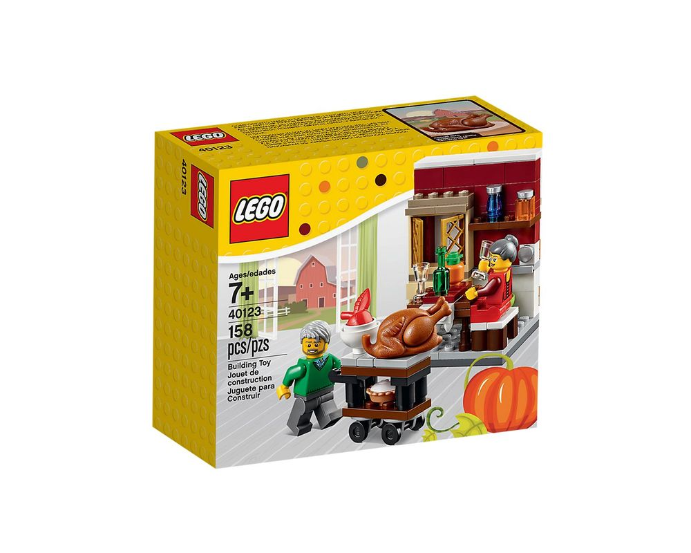 LEGO Set 40123-1 Thanksgiving Feast