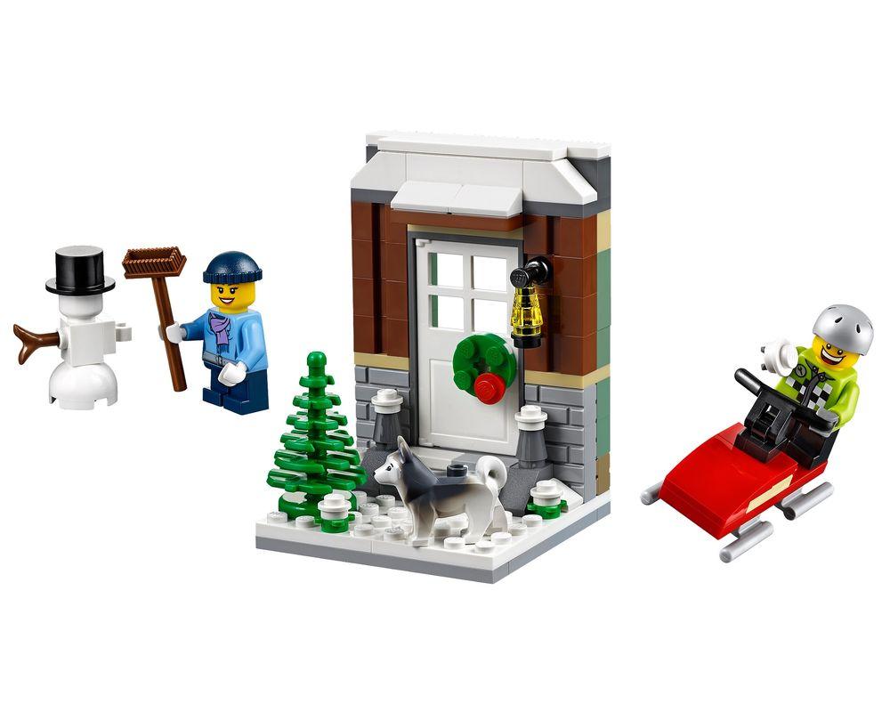 LEGO Set 40124-1 Winter Fun (LEGO - Model)