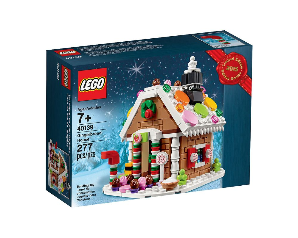 LEGO Set 40139-1 Gingerbread House